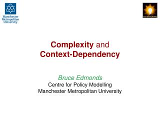 Complexity  and Context-Dependency