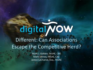 Different: Can Associations Escape the Competitive Herd?