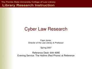 Cyber Law Research
