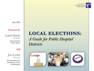 A Guide for Public Hospital Districts