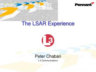The LSAR Experience