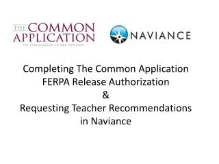 To Request a Teacher Recommendation:
