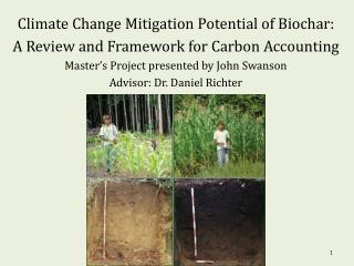 Climate Change Mitigation Potential of Biochar: A Review and Framework for Carbon Accounting