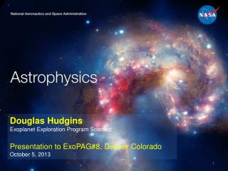 Douglas Hudgins Exoplanet  Exploration Program Scientist