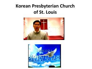Korean Presbyterian Church  of St. Louis