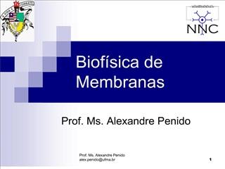 Biof sica de Membranas