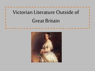 Victorian Literature Outside of Great Britain