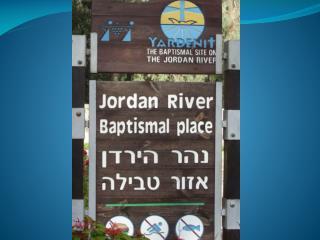 Four Gospel Accounts of the Baptism of Jesus
