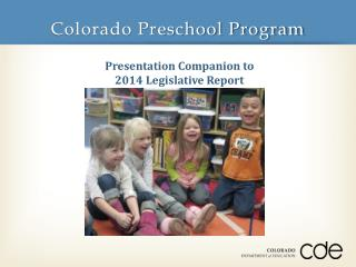 Colorado Preschool Program
