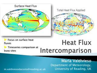 Heat Flux  Intercomparison
