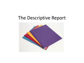 The Descriptive Report