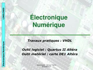 Électronique Numérique