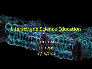 Literacy and Science Education