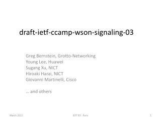 draft-ietf-ccamp-wson-signaling-03