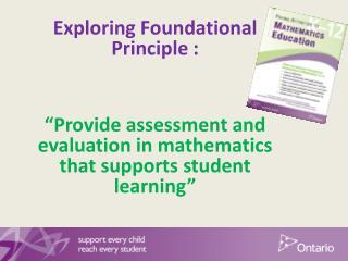 Exploring Foundational Principle :