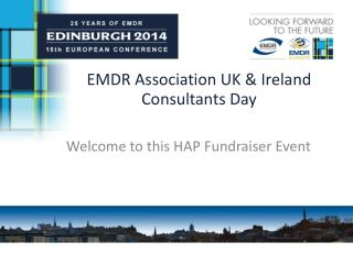 EMDR Association UK & Ireland Consultants Day
