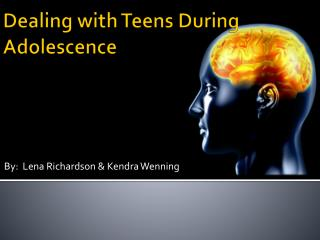 Dealing with Teens During Adolescence