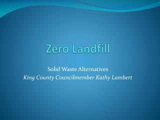 Zero Landfill