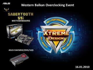 Western Balkan Overclocking Event