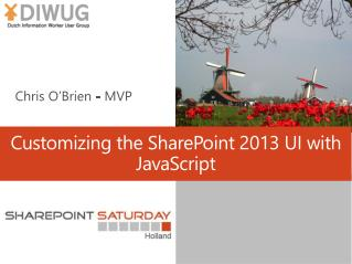 Customizing  the SharePoint 2013 UI with JavaScript
