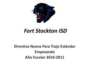 Fort Stockton ISD