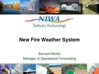 New Fire Weather System