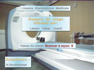 Licence  Electronique  Médicale