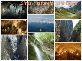 Sites  naturels d'intérêt