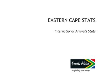 EASTERN CAPE STATS International Arrivals Stats