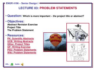Question:  Which is more important – the project title or abstract?