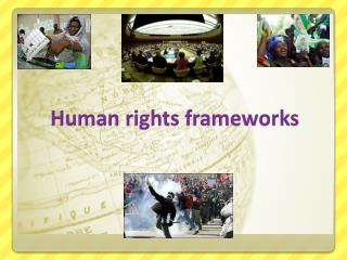 Human  rights frameworks