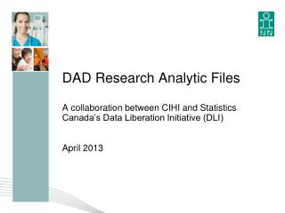 DAD Research Analytic Files