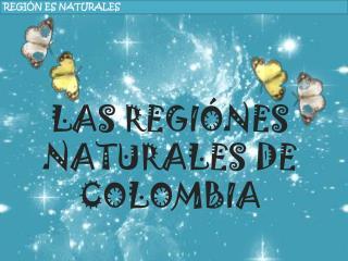 REGI�N ES NATURALES