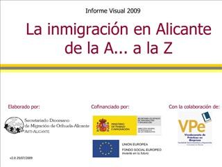 La inmigraci n en Alicante de la A... a la Z