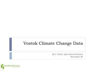 Vostok  Climate Change Data