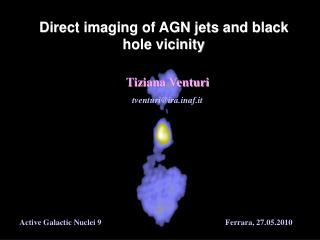 Direct imaging of AGN jets and black hole vicinity