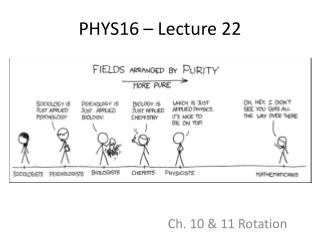 PHYS16 – Lecture 22