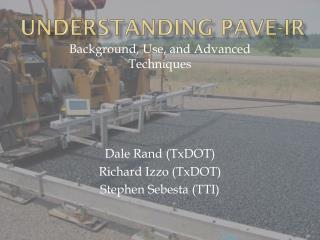 Understanding Pave- ir