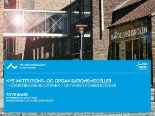 Trends i Europa 2010 – 2020 i universitetsverdenen