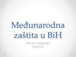 Međunarodna zaštita u BiH