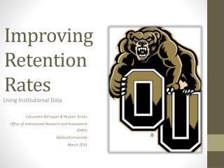 Improving Retention Rates