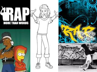 Rap  [ræp] ist ein Sprechgesang und Teil der Kultur des Hip-Hop.