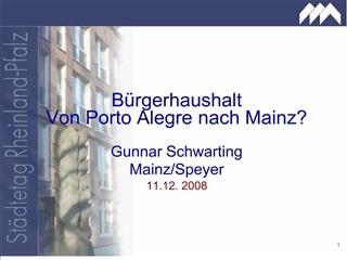 Gunnar Schwarting Mainz