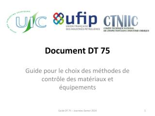 Document DT 75