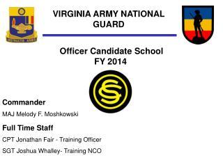 VIRGINIA ARMY NATIONAL GUARD