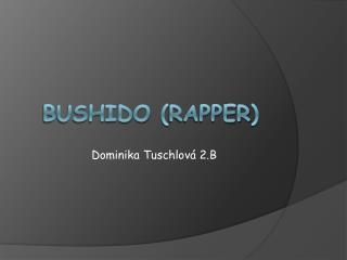 Bushido  ( rapper )