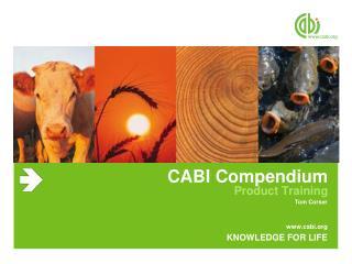 CABI Compendium