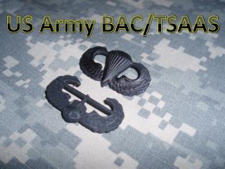 US Army BAC/TSAAS