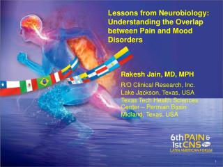 Lessons from Neurobiology :  Understanding  the  Overlap between  Pain and  Mood Disorders
