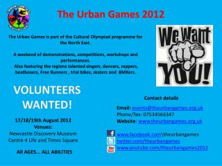 The Urban Games 2012